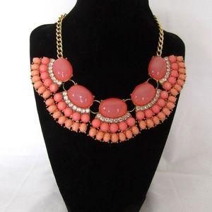 Pink Statement Necklace